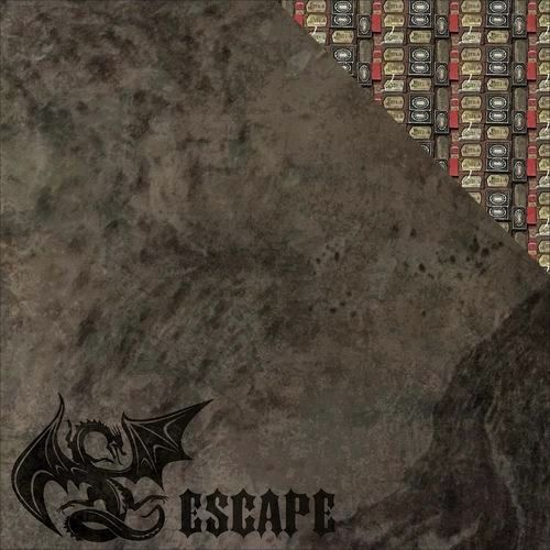 Dragon Escape Double Sided 12x12 Scrapbooking Paper Harry Potter
