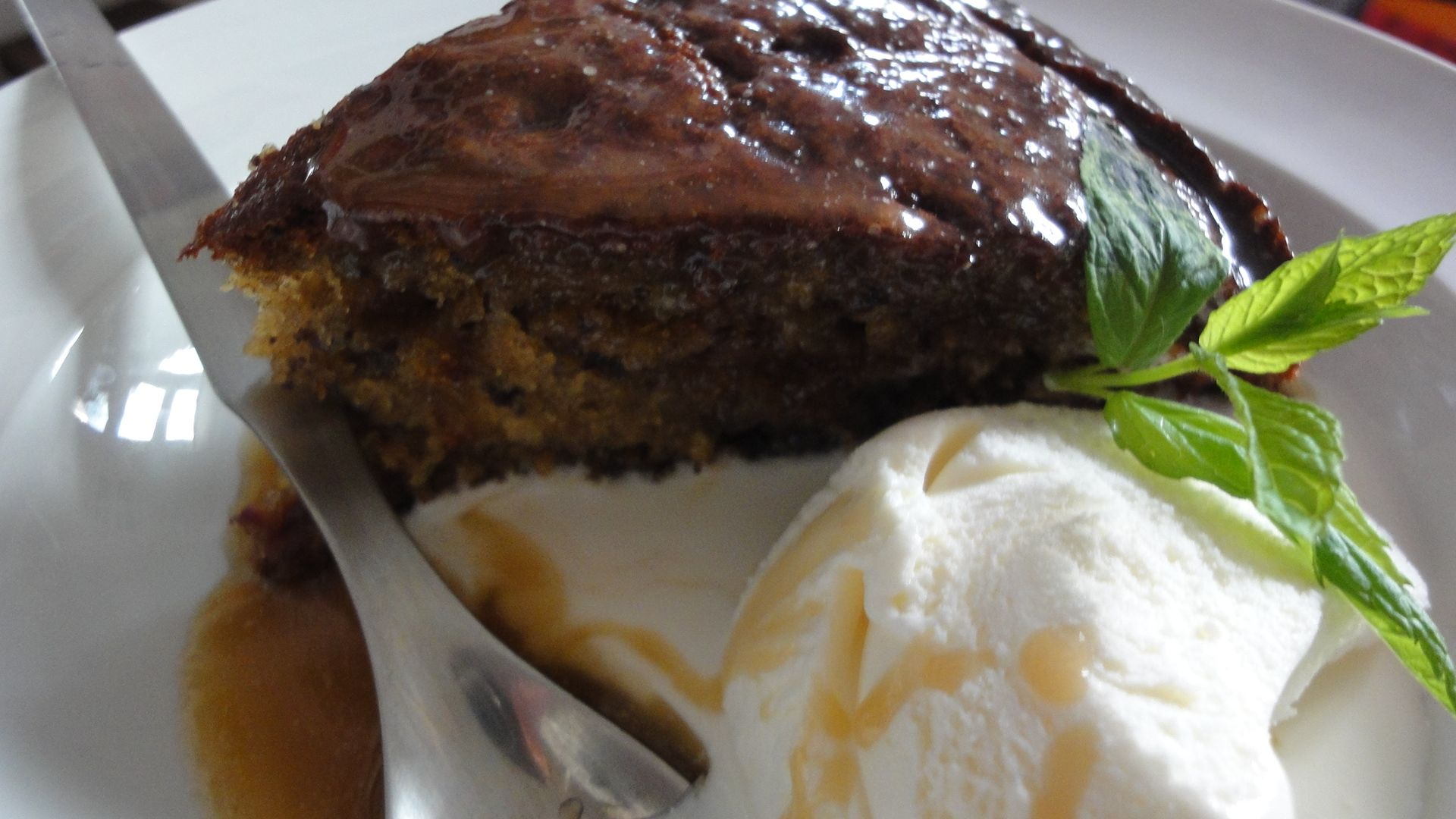Sticky Toffee Pie... Relax...Enjoy...Drive to Heaven...