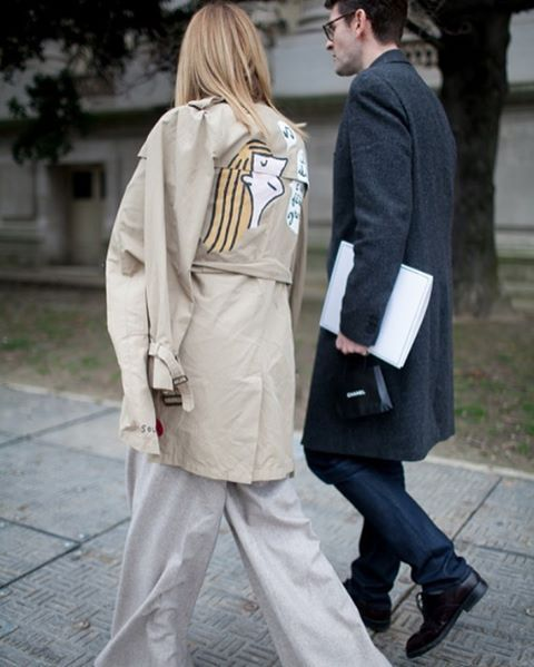 #tb #parisfashionweek photo by @kukukuba @wwd #style#styling#stylish#street#streetstyle#fashion#fashionable#cool#instamood#instafashion#woman#women#womensfashion#womensstyle#moda#shoes#loveit#streetlook#sexy#instyle#tagsforlikes#followme#luxury#blogger#fashionweek#luxurystyle#luxuryfashion#trenchcoat