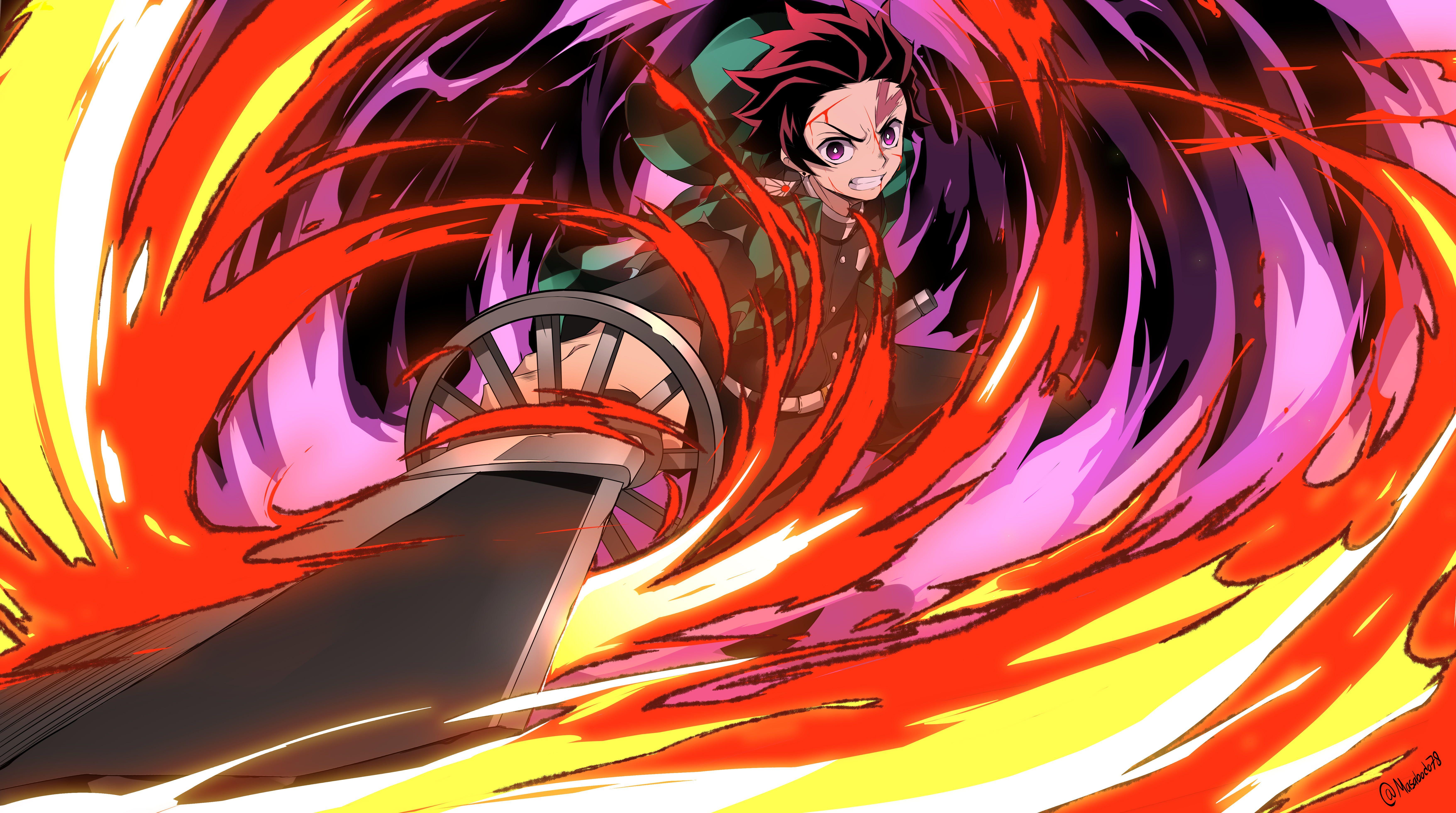 Anime Anime Girls Digital Art Artwork Portrait 2d 5k Wallpaper Hdwallpaper Desktop In 2020 Anime Demon Slayer Anime Anime