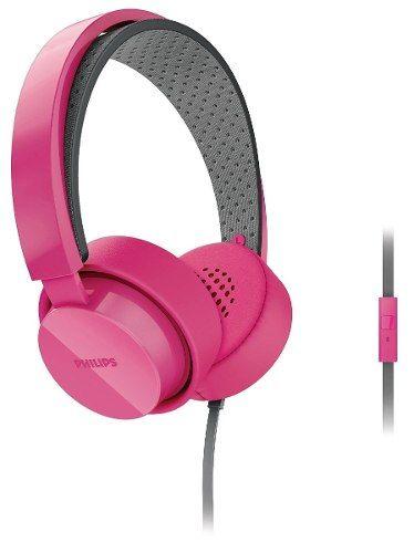 Auriculares Philips Shl5205pk/10 Rosa Microfono - $ 399,00