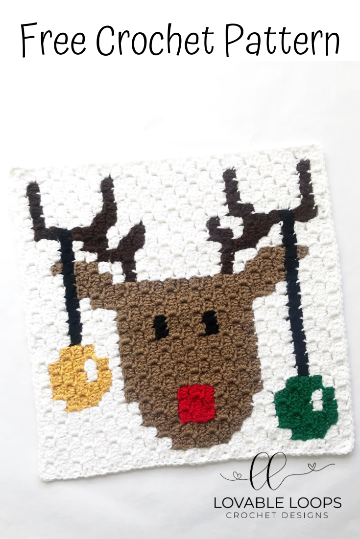 Rudolph the Red-Nosed Reindeer- Free Crochet Pattern   The Crochet ...   1102x735
