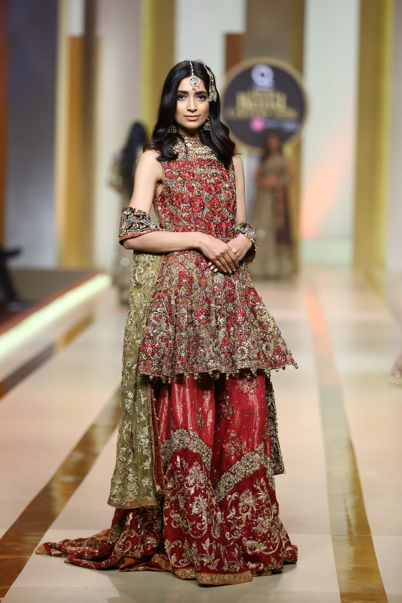 Pin by Amnah💄 on Bridal and Casual Lehengas Pakistani