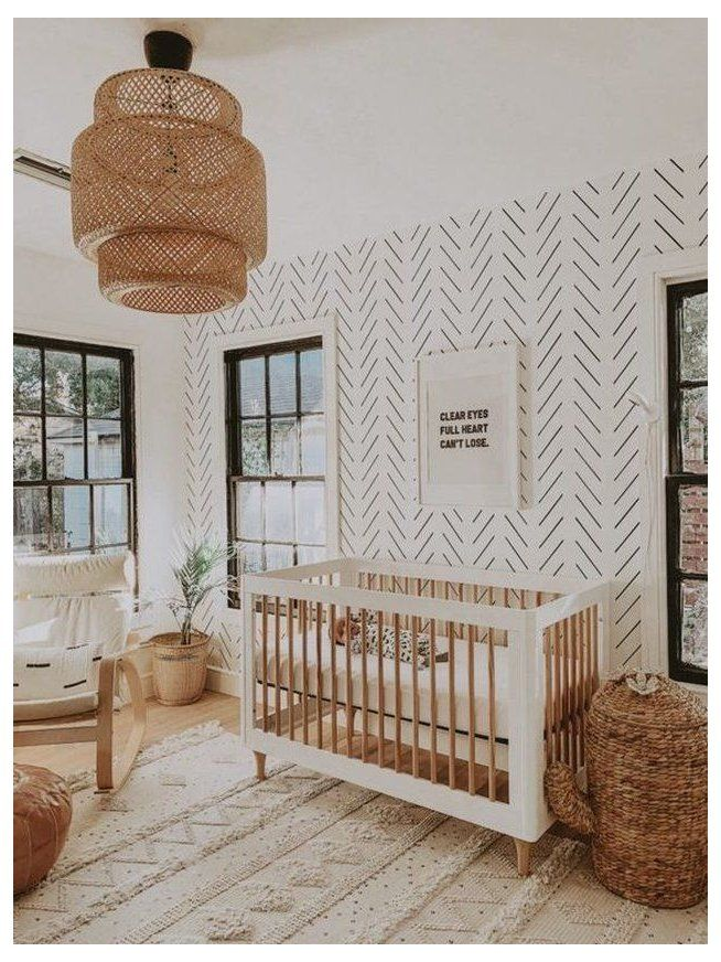 modern unisex kids room