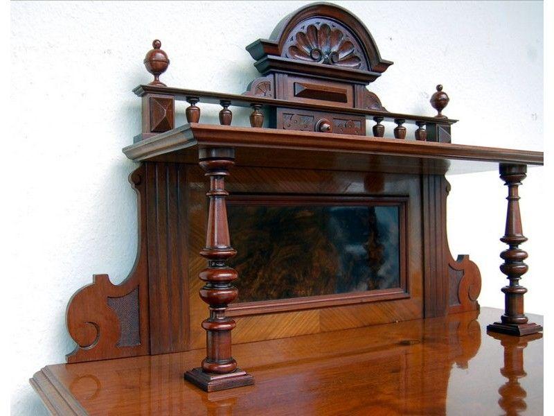vertiko mit aufsatz gr nderzeit um 1880 antike m bel und antiquit ten hense renaissance. Black Bedroom Furniture Sets. Home Design Ideas