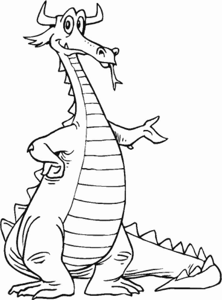 Pin By Bazza On Digi Stamps Pinterest Dragon Coloring Page