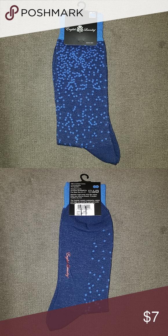 English Laundry Dots Dress Socks English Laundry Socks Style