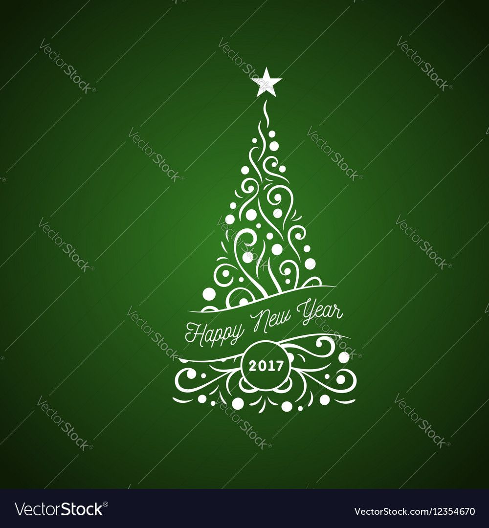 christmas tree ornament, isolated vector illustration logo. download