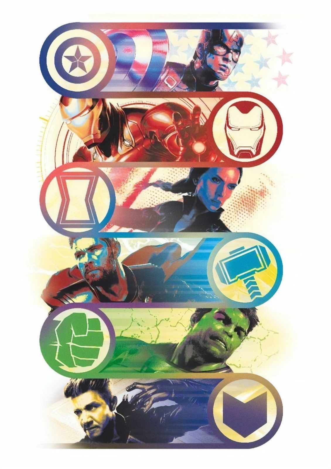 Avengers 4 end game movie poster 13x20 24x36 27x40