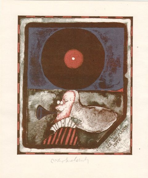 Bookplate by Vladimir Suchanek