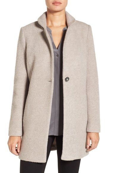 Kenneth Cole New York Boucle Coat With Images Boucle Coat Coat Kenneth Cole New York