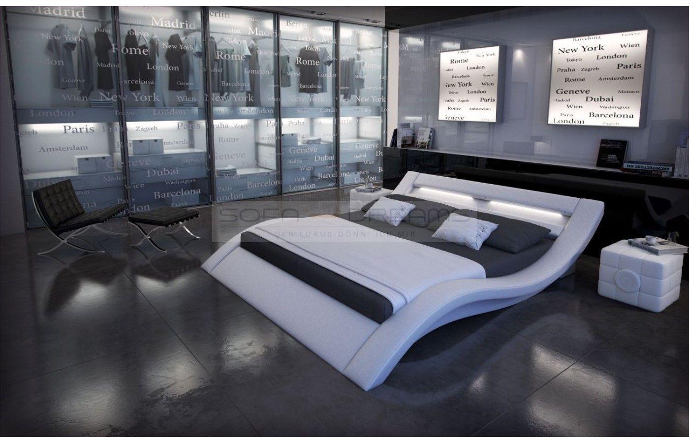designerbett massa mit led beleuchtung exklusiv bei sofa dreams designerbett massa mit
