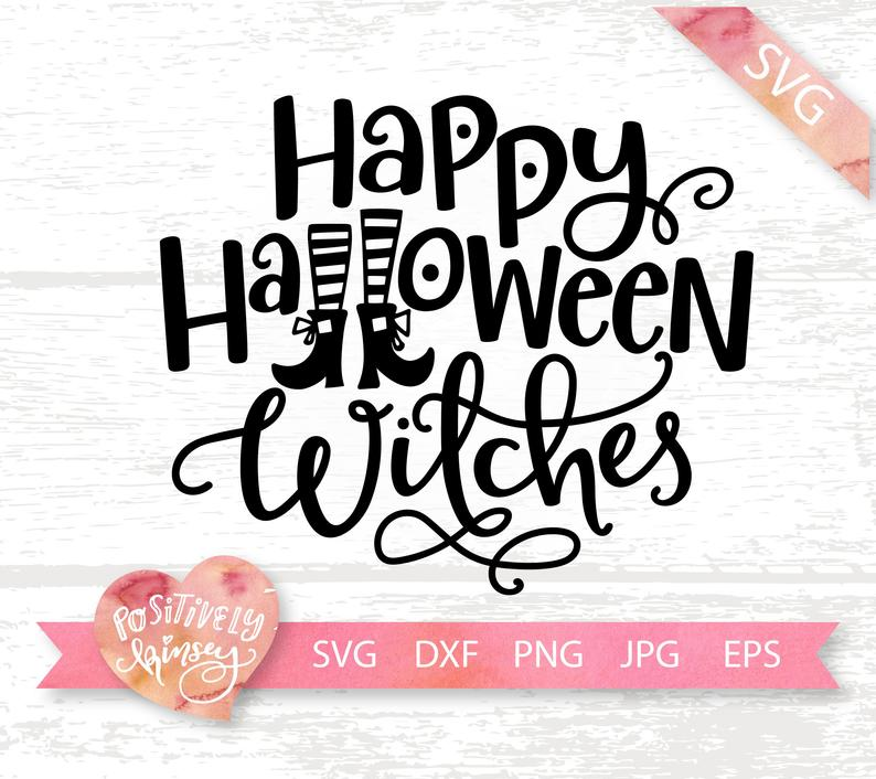 Happy Halloween Witches Svg Funny Halloween Svg Witch Svg Etsy Happy Halloween Witches Halloween Funny Womens Halloween Shirts