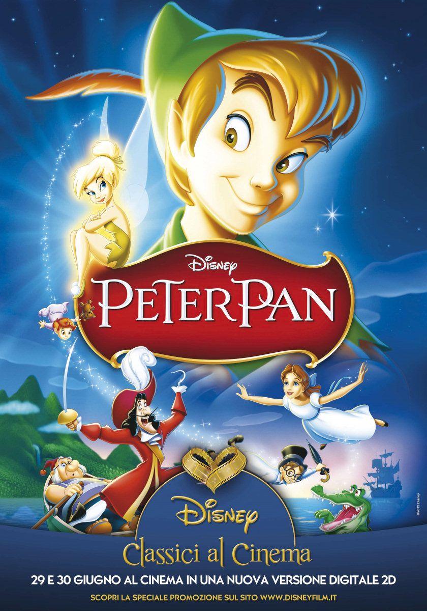 Le Avventure Di Peter Pan Film 1953 Disney Peter Pan Film Di Animazione Disney