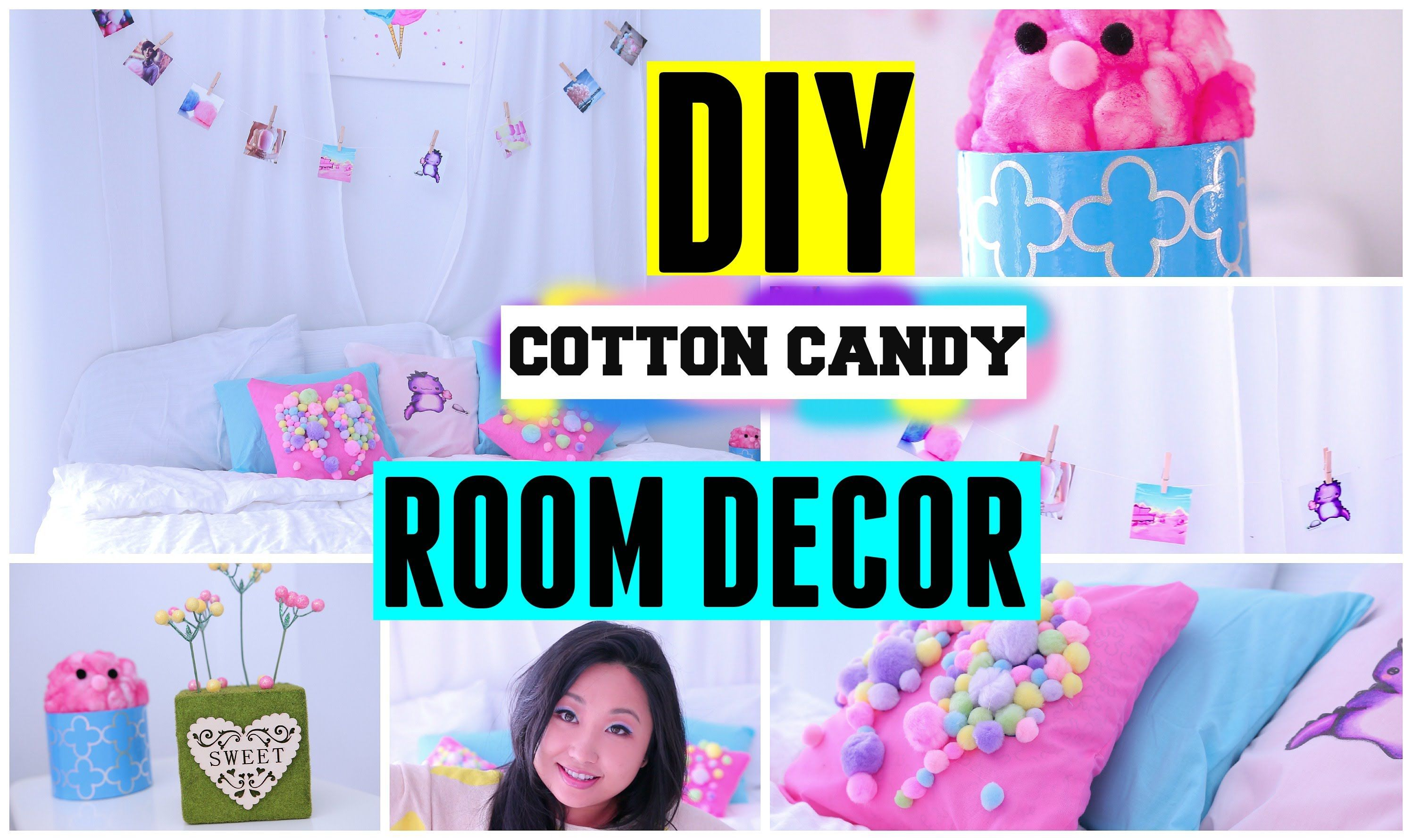 Diy spring cotton candy room decor ideas for teens cute easy cheap images