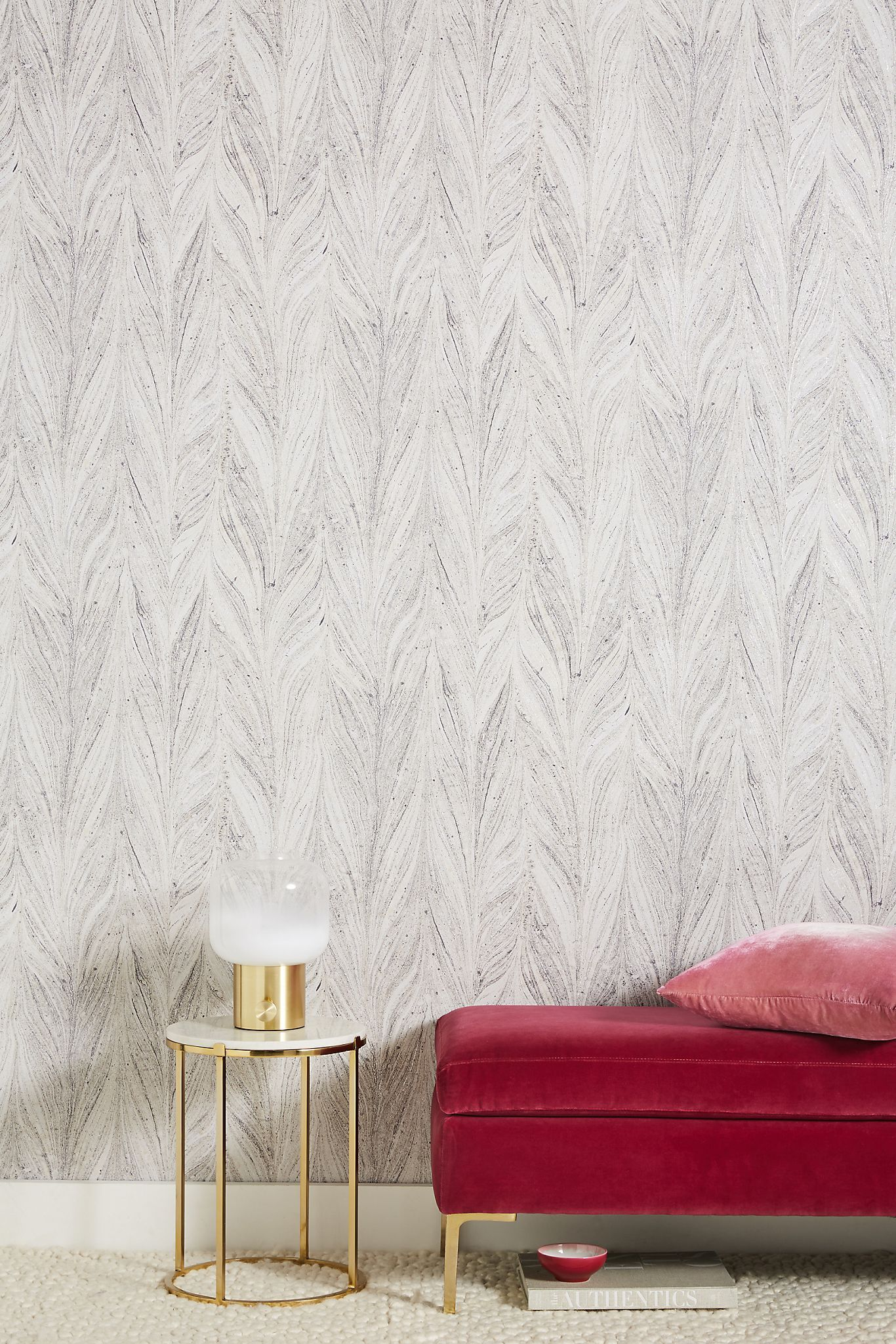 Ibru Wallpaper Anthropologie In 2020 Feature Wall Living