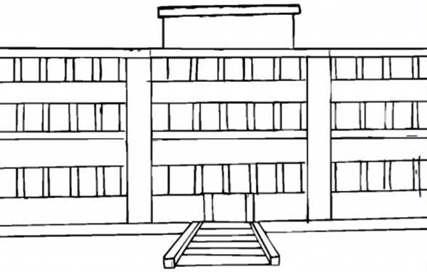 School House For College Student Coloring Page Coloring Sky House Colouring Pages Coloring Pages College Students