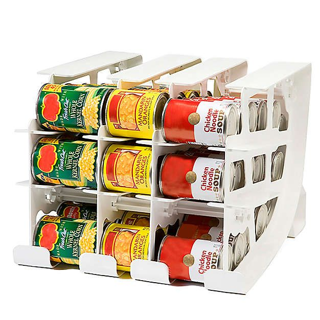 Pantry Organizer Bed Bath And Beyond: FIFO Can Tracker Food Storage Organizer