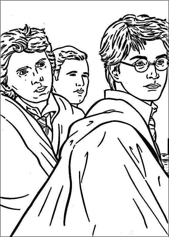 Dibujos para Colorear Harry Potter 35 | Dibujos para colorear para ...
