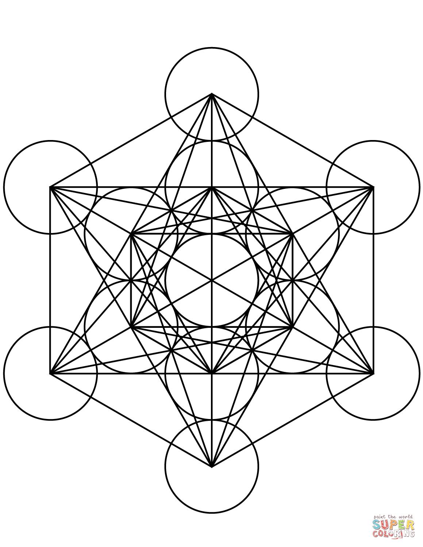 Metatron S Cube In Judaism Metatron Is The Angel Who Guards God S Throne The Figure Of Metatron S Cube Tatuagem Geometrica Sagrada Geometria Sagrada Metraton