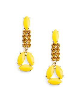 Rock Citrus Earrings