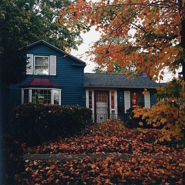 Cozy Nights Autumn Spice Autumn Home Exterior Cozy Nights