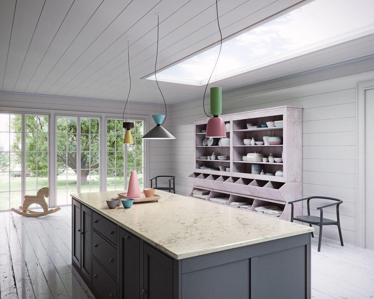 Caesarstone designer kitchens - 5211 Noble Grey Http Www Caesarstone Com Newcolours2016