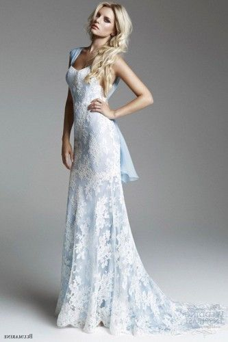 Baby Blue Wedding Gowns Google Search Baby Blue Wedding Dresses Blue Lace Wedding Dress Blue Wedding Dresses
