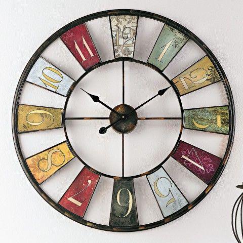 Vintage wanduhr in 2019 vintage wanduhr clock decor for Ausgefallene wanduhren