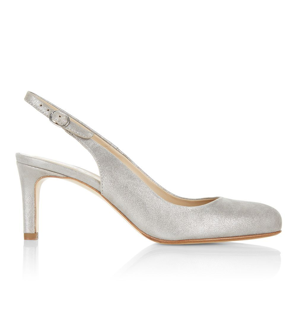 Our covetable signature court has been given a spring-summer update with  the Lizzie slingback.
