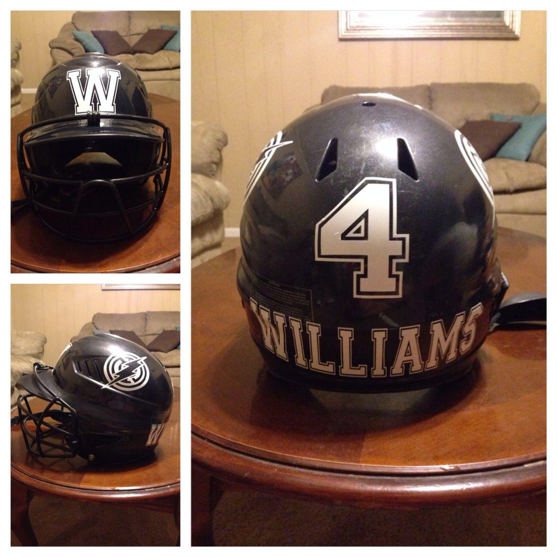 Baseball Helmet Decal Play Ball Baseball Helmet