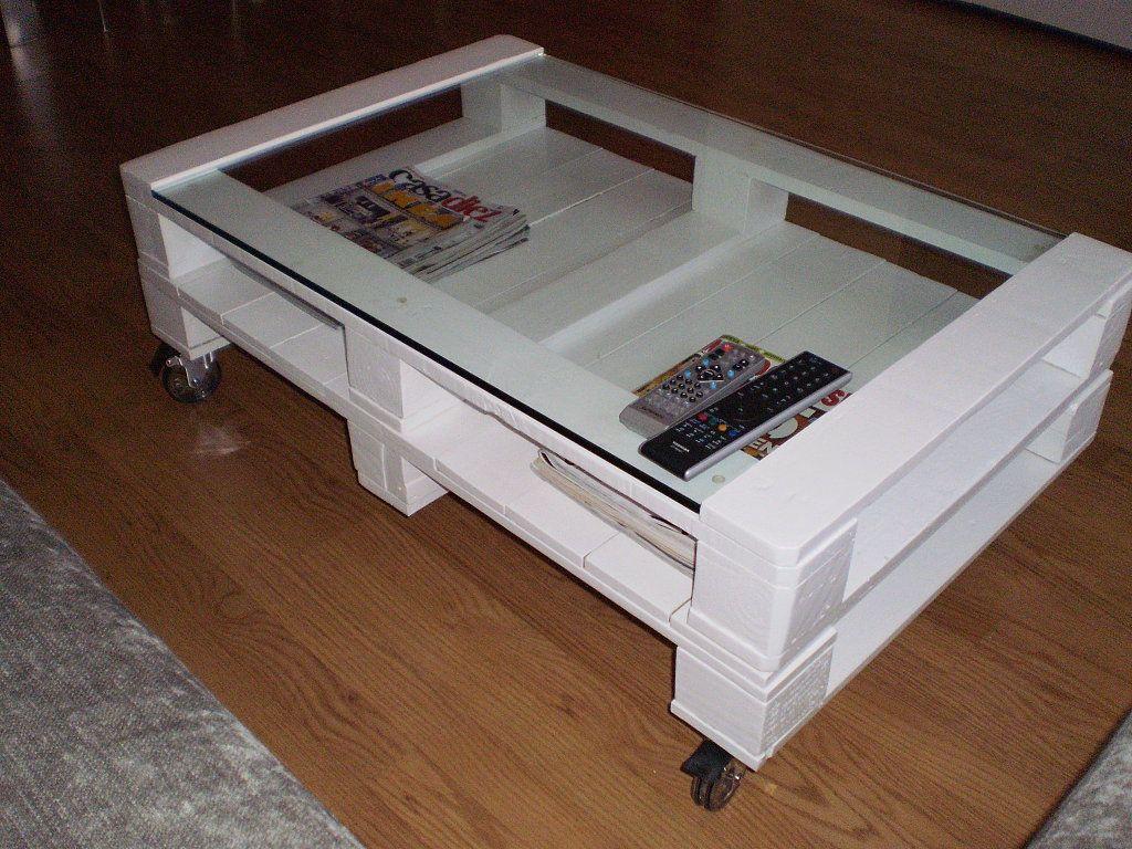 Mesa centro con palets | Palets, Bricolaje y Es facil