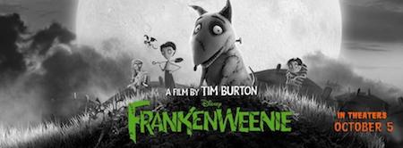 """Tim Burton's """"Frankenweenie"""" Homage Trailer Tim burton"""