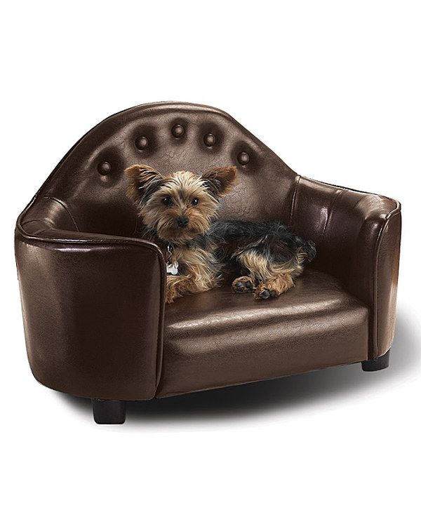 Look at this Enchanted Home Pet Brown Headboard Bed on