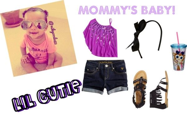 """""""MOMMY'S LIL GIRL!!!"""" by lilmschica ❤ liked on Polyvore"""