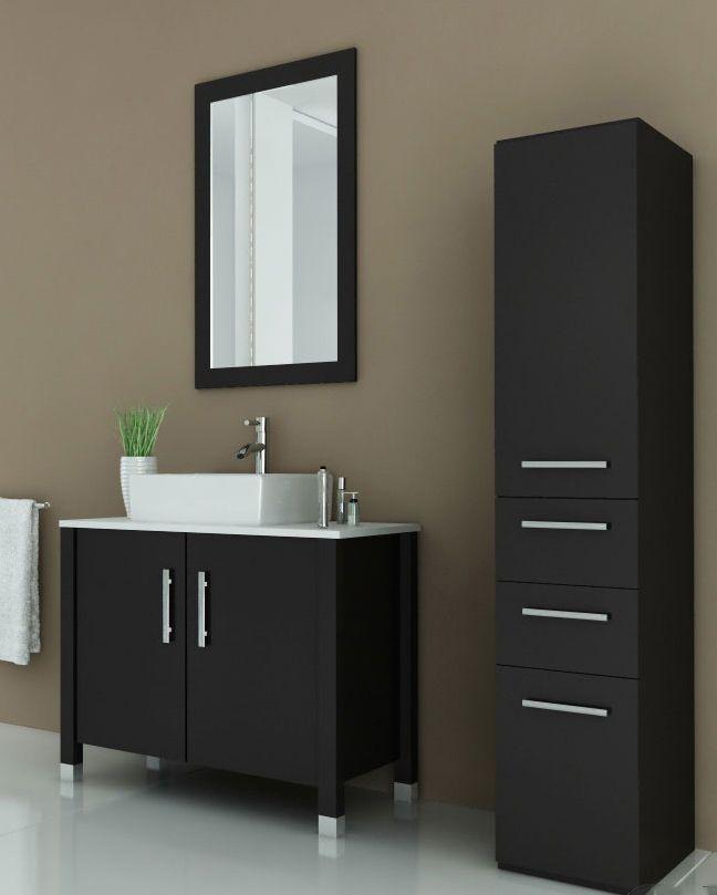 Avola 35 5 Inch Vessel Sink Bathroom Vanity Espresso