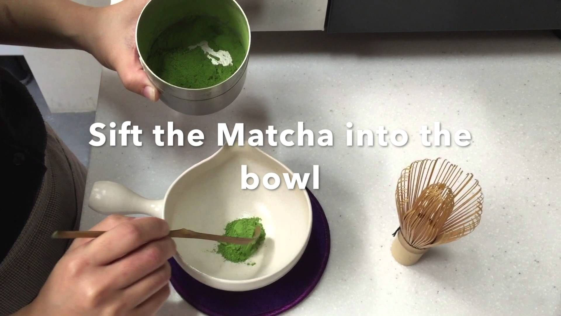 How to whisk your Matcha! YouTube