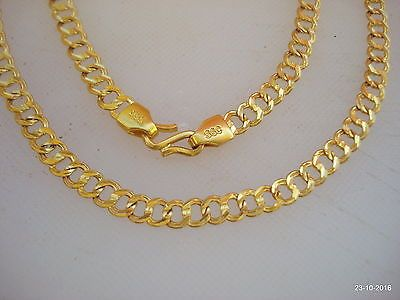 Details About Traditional Design 20kt Gold Chain Necklace Handmade
