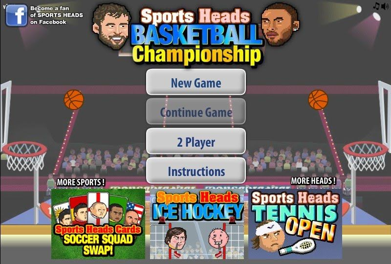 1 On 1 Basketball Unblocked Play At School Basketball Championship Sports Head Games
