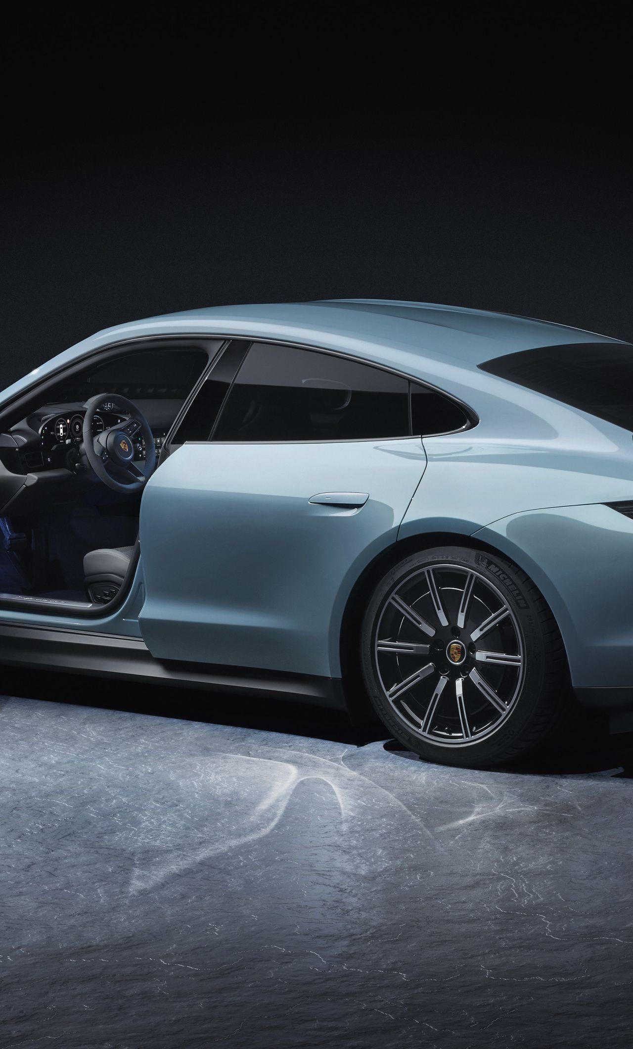 1280x2120 Porsche Taycan 4S, sideview, 2019 wallpaper