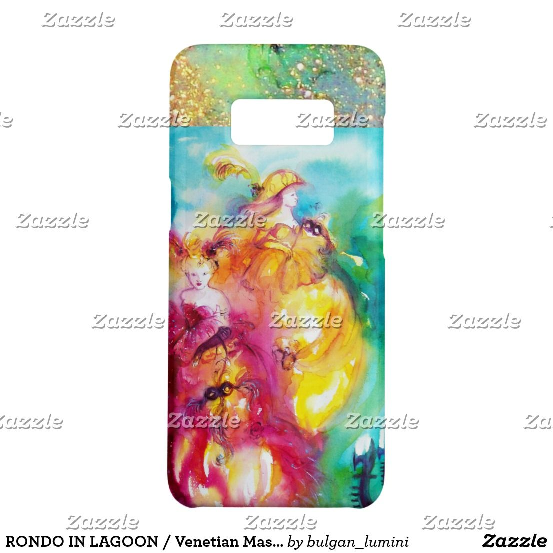 RONDO IN LAGOON / Venetian Masquerade Ball Case-Mate Samsung Galaxy S8 Case #beauty #fineart #woman #fashion #venice