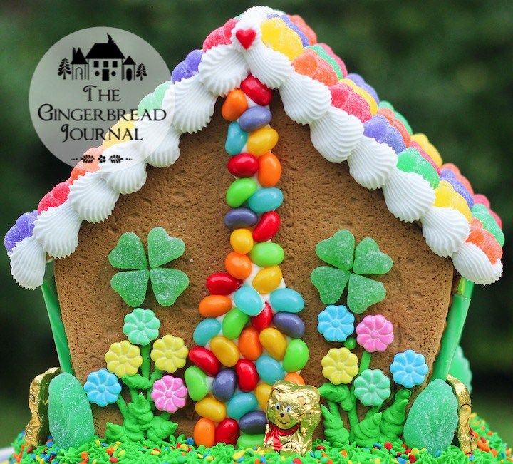 gingerbread house St. Patrick's Day 2015-23wm