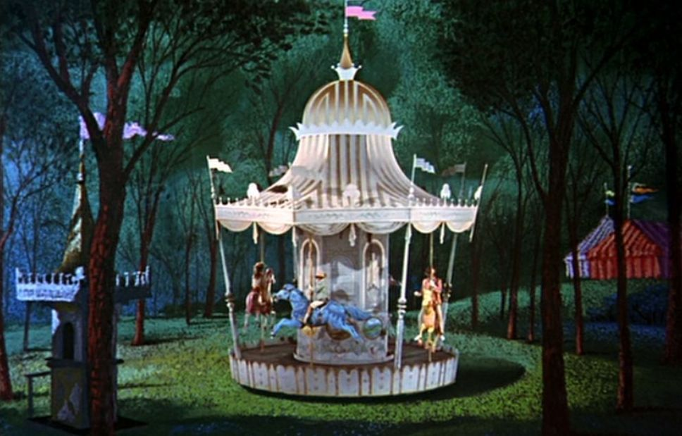 Movie Still Carousel Inspiration Mary Poppins Nursery