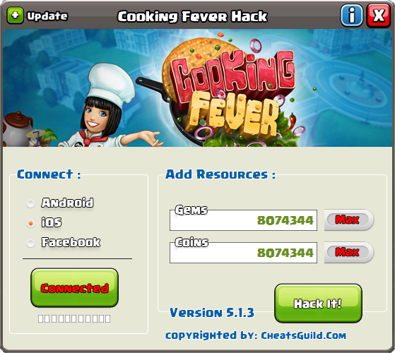 cooking fever hack ios without survey