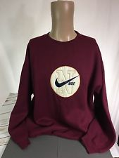 5046fa9931447 Vintage Nike Sweatshirt Mens XL Crew Neck USA Made 80s 90s Leather ...