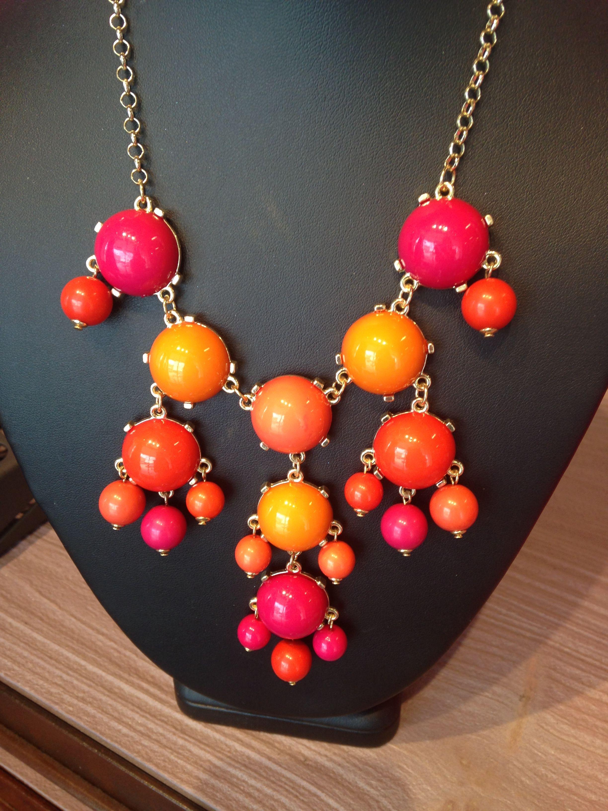 Multi colored necklace!