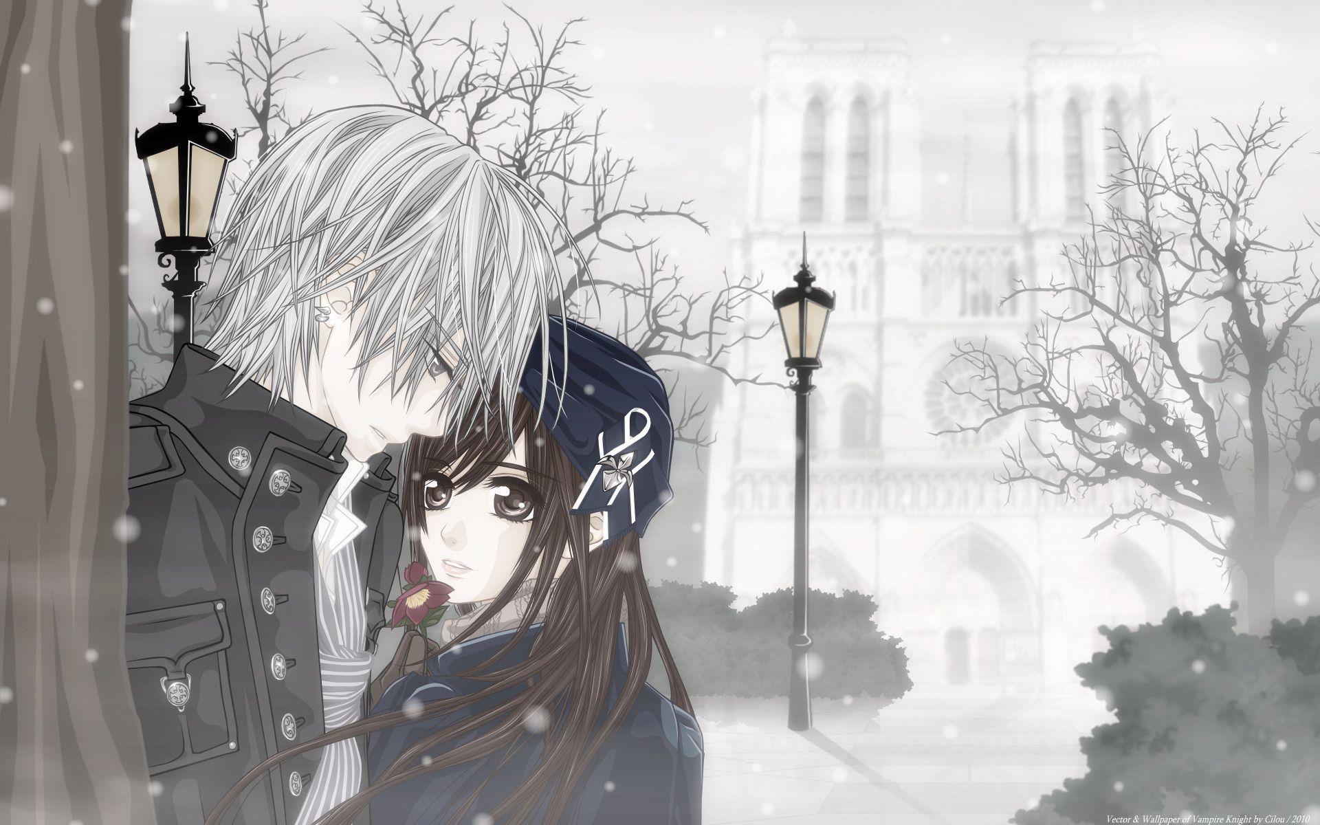 Running Away Romantic Anime Vampire Knight Yuki Vampire Knight