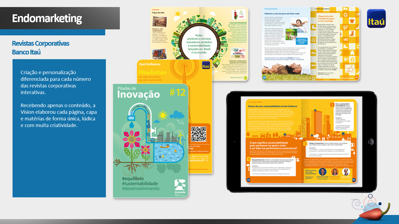 Revista Itaú para iPad