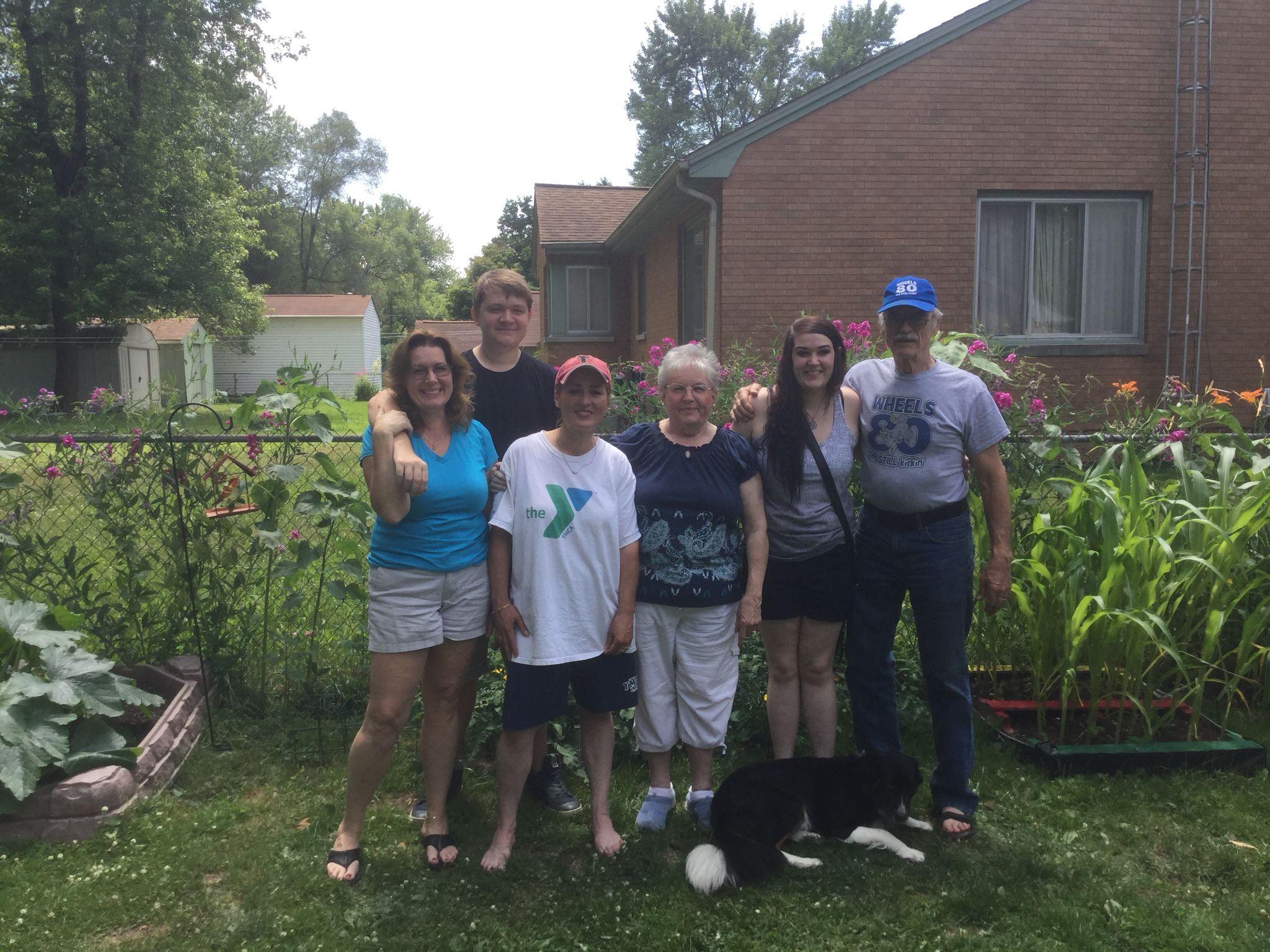 My crazy beautiful family