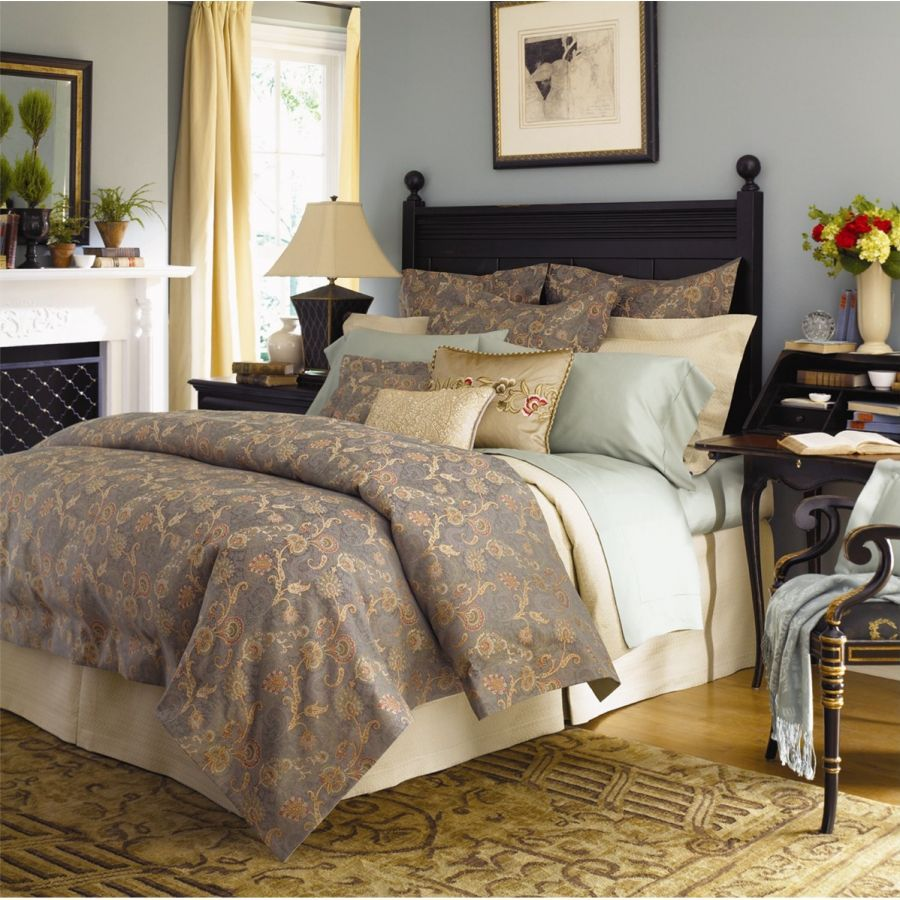 Love the color on walls sferra brothers fine linens decorating